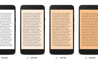 تطبيق Play Books يحصل على ميزة Night Light لجعل القراءة أمتع وأسهل ليلًا