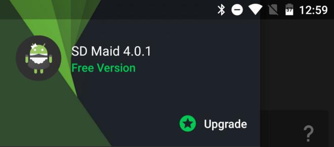 تحديث تطبيق تنظيف مُخلفات الملفات SD Maid على أندرويد يجُلب تصميم جديد