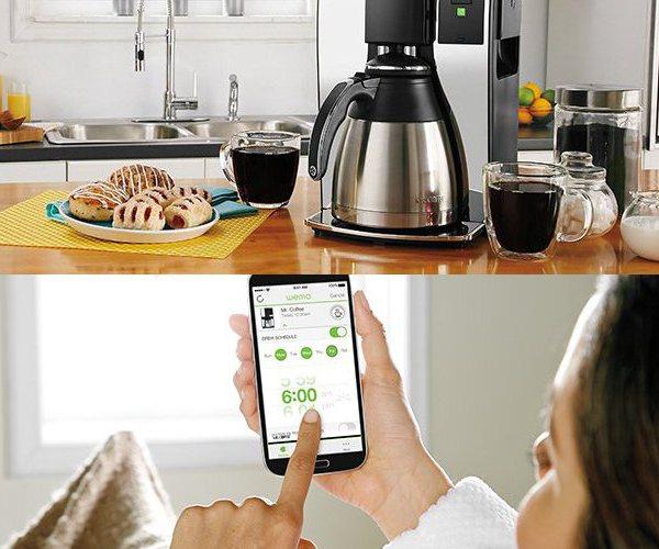 belkin Mr. Coffee® 10-Cup Smart Optimal Brew™ Coffeemaker with WeMo®