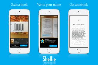 تطبيق Shelfie للحصول على الكتب المطبوعة رقميًا مجّانًا أو بسعر منخفض