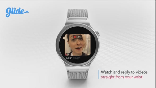 تطبيق درشة الفيديو Glide يدعم الآن نظام أندرويد وير النسخة الأخيرة