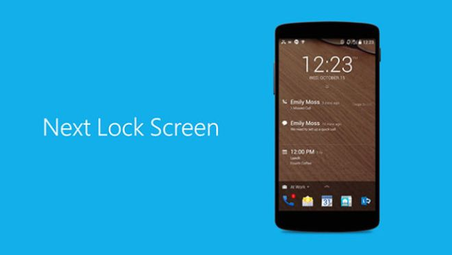 تطبيق شاشة القفل Next Lock Screen يُحسن الإشعارات وإستخدام الذاكرة