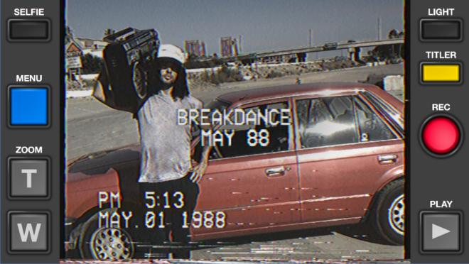 تطبيق VHS Camcorder في أندرويد لتصوير فيديو يعود لزمن الثمانيات