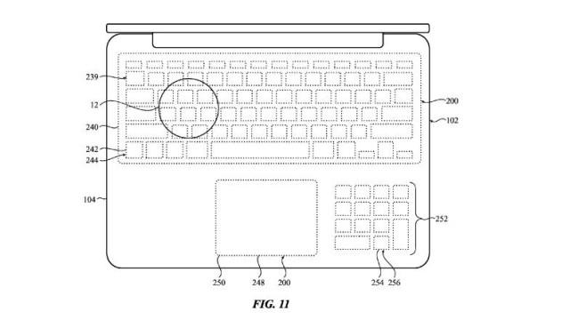 apple-touchscreen-keyboard-patent