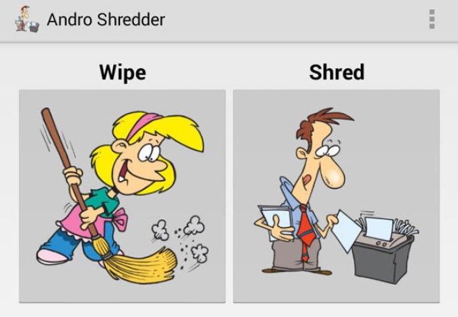 Andro Shredder