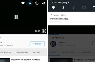 تطبيق Vimeo على أندرويد يدعم الآن تشغيل الفيديوهات أوفلاين وأكثر