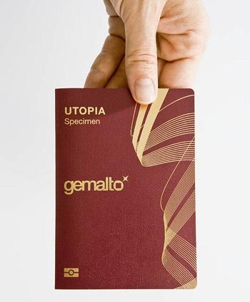 جيمالتو جوازات السفر الإلكترونية