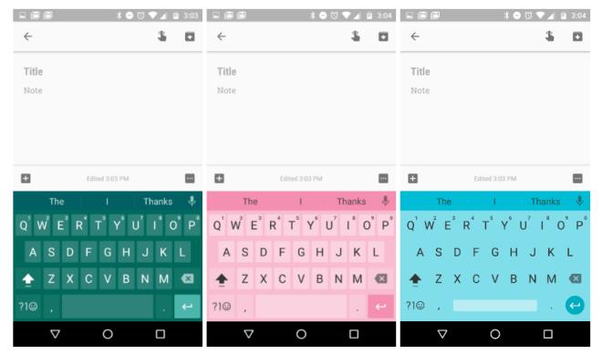 تحديث لوحة مفاتيح قوقل على أندرويد تجلب إيماءات وثيمات جديدة