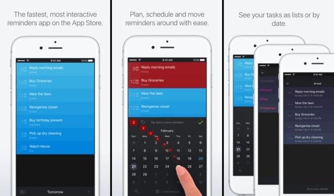 تطبيق Sorted على iOS يعمل على جدولة المهام والتذكير فيها وإنشاء قوائم وأكثر