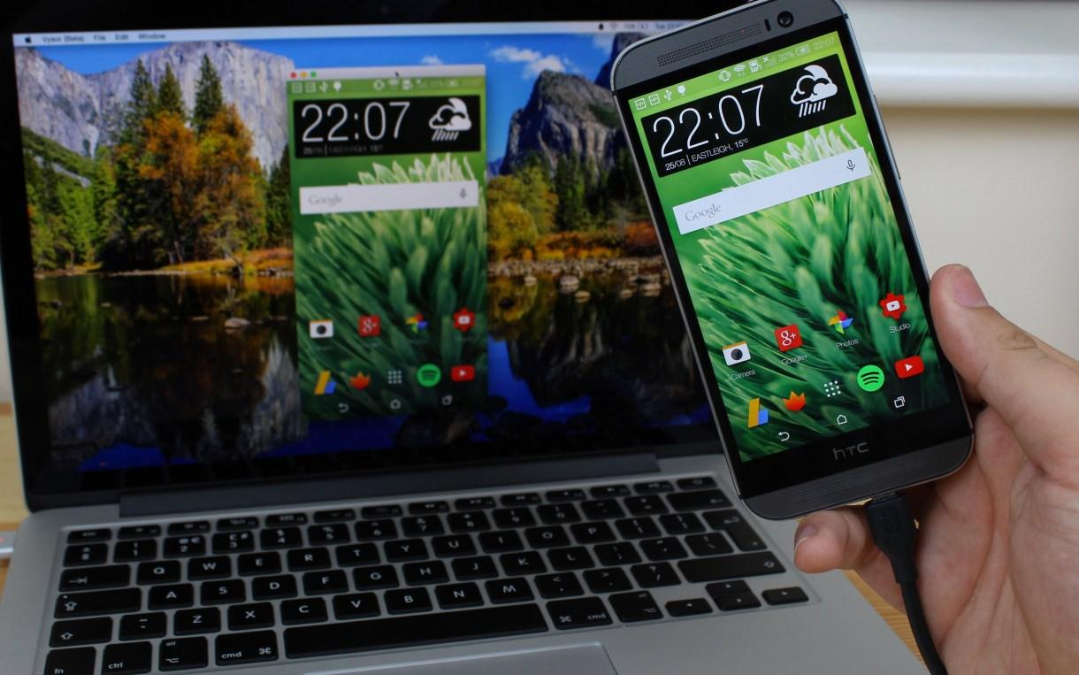 تطبيق Vysor للتحكم لتصفّح جهازك الاندرويد من على جهازك الحاسوب