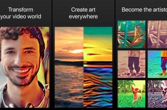 الآن على أندرويد تطبيق Artisto لتحويل الفيديو إلى لوحة فنيّة