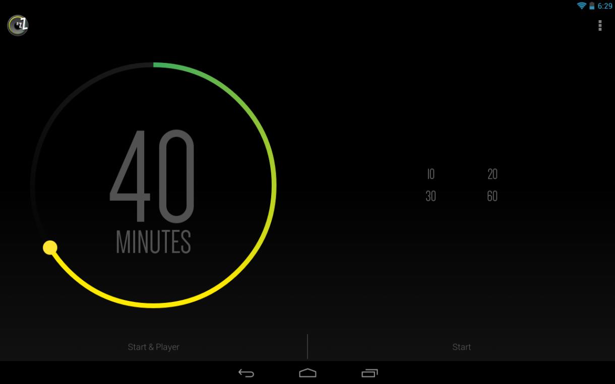 تطبيق Sleep Timer لإيقاف الموسيقى أو الراديو تلقائيًا بعد النوم