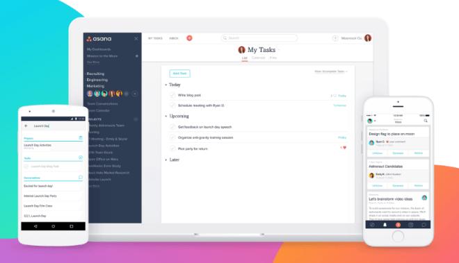 تطبيق Asana أفضل تطبيق يخدم بيئة فرق العمل