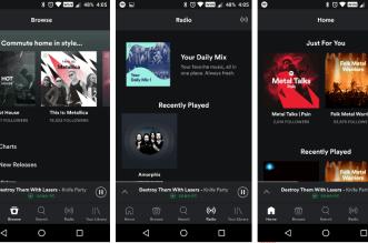 أحدث نسخة بيتا من تطبيق Spotify على أندرويد تُعيد شريط التنقل السفلي