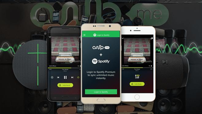 تطبيق AmpMe يدعم الآن مزامنة الموسيقى لخدمة Spotify