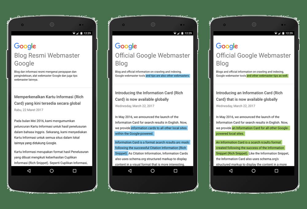 ترجمة قوقل أصبحت أفضل مع متصفّح كروم وإضافة المزيد من اللغات