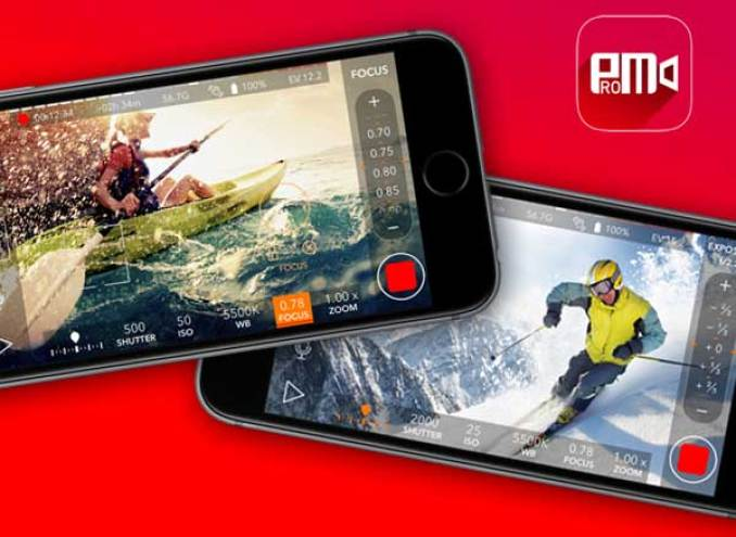 تطبيق ProMovie على iOS لتصوير فيديوهات بدقة 4K مع تحريرها