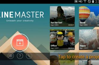 محرر الفيديو KineMaster وبنسخته الكاملة متاح الآن على iOS