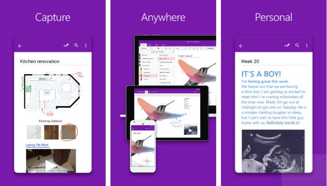تحديث OneNote على أندرويد يأتي بتصميم جديد وأكثر