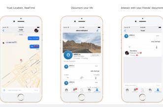 تطبيق TrustedU شبكة إجتماعية لتصفّح الشخصيات والتدوينات وأكثر