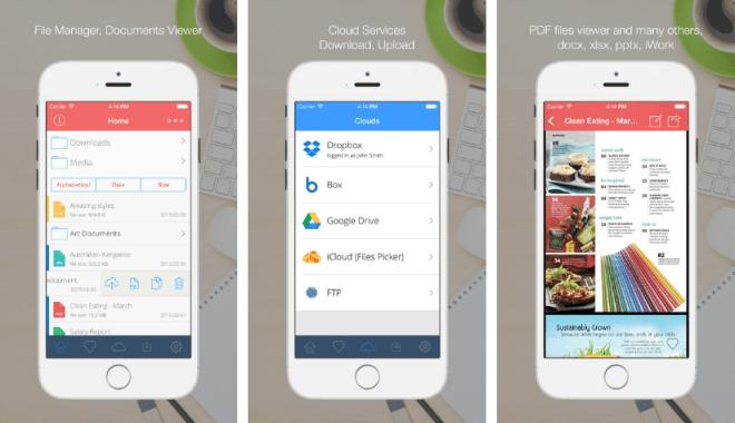 تطبيق Cloud Hub لقراءة الوثائق وإدارة الملفات على iOS