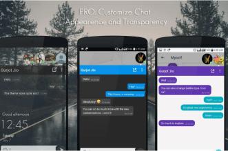 تطبيق DirectChat لإدارة المحادثات بفكرة الأيقونات العائمة