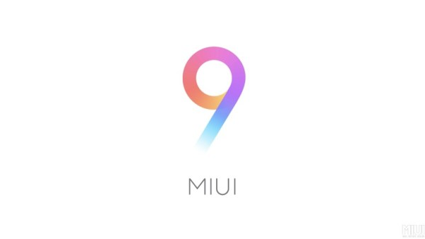 واجهة المستخدم MIUI 9