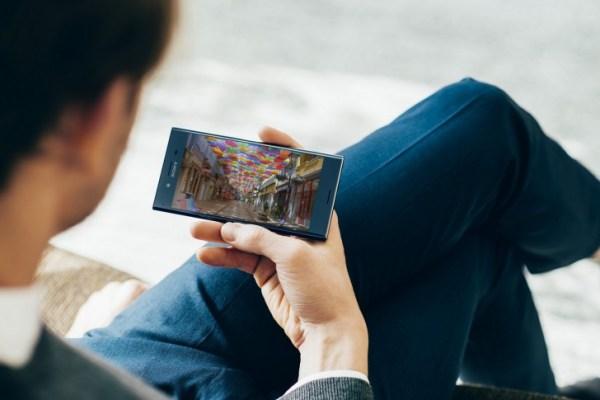 نتفليكس بتقنية HDR على هاتف Xperia XZ Premium