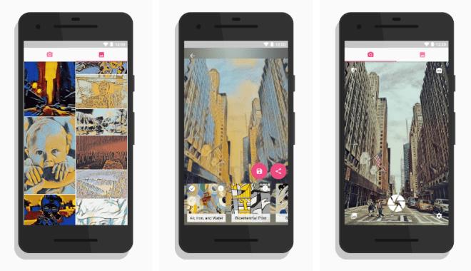 تطبيقMicasso الجديد لتحويل صورك إلى لوحة فنية مرسومة