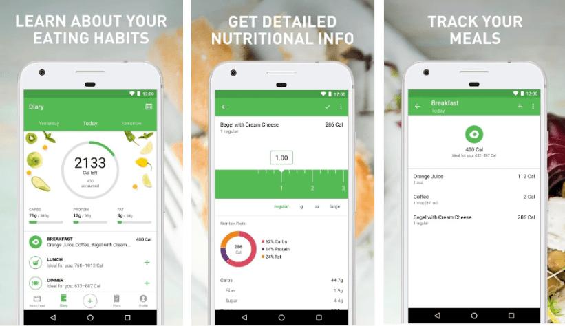 Runtastic تطلق تطبيق جديد لحساب عناصر الطعام الأساسية