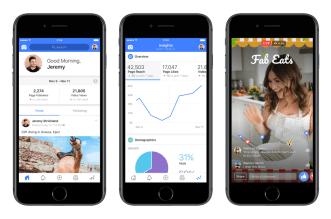 فيسبوك تطلق تطبيقها الجديدCreator لصناعة المحتوى المرئي