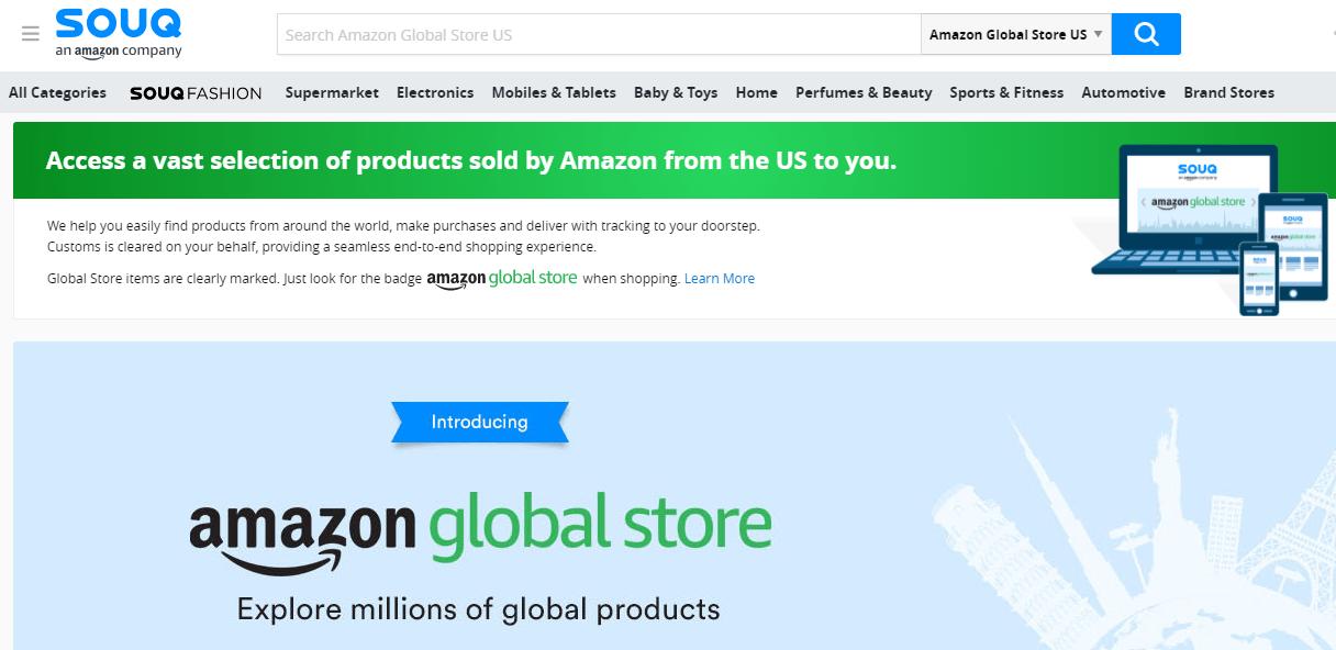 Amazon Global Store comes to UAE