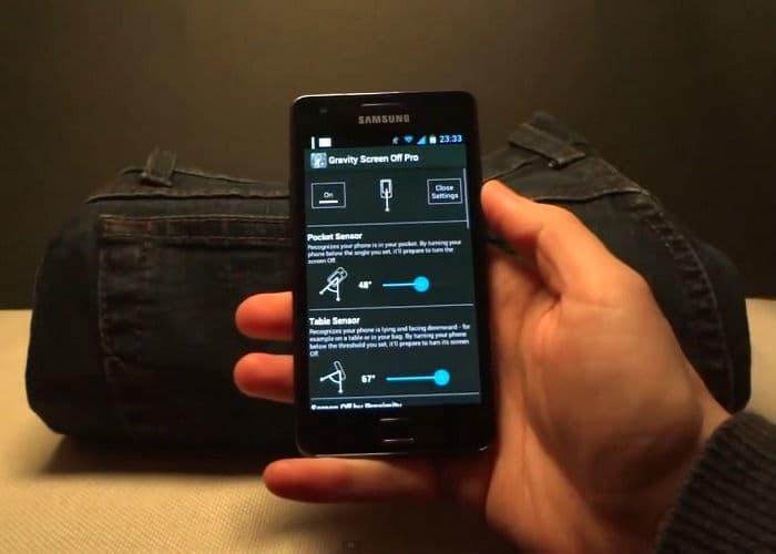 تطبيقGravity Screen لقفل وتشغيل شاشة الأندرويد تلقائيًا