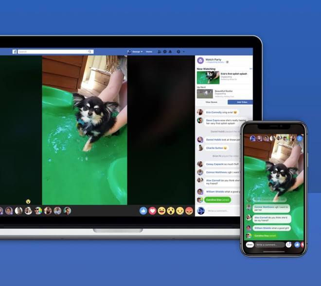 فيس بوك تختبر ميزة المشاهدة الجماعية للفيديوهات
