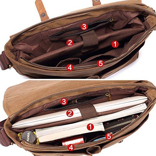 حقيبة لاب توب و أوراق من KAUKKO