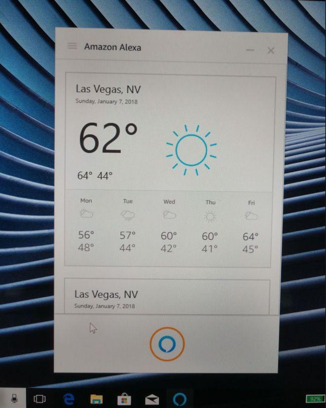 Amazon Alexa is coming to Windows 10 PC