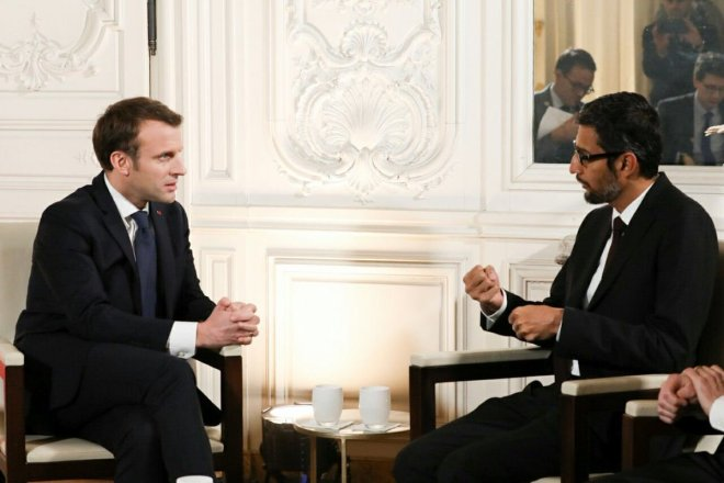 قوقل تتعاون مع الحكومة الفرنسية في مجال الذكاء الصُنعي AI