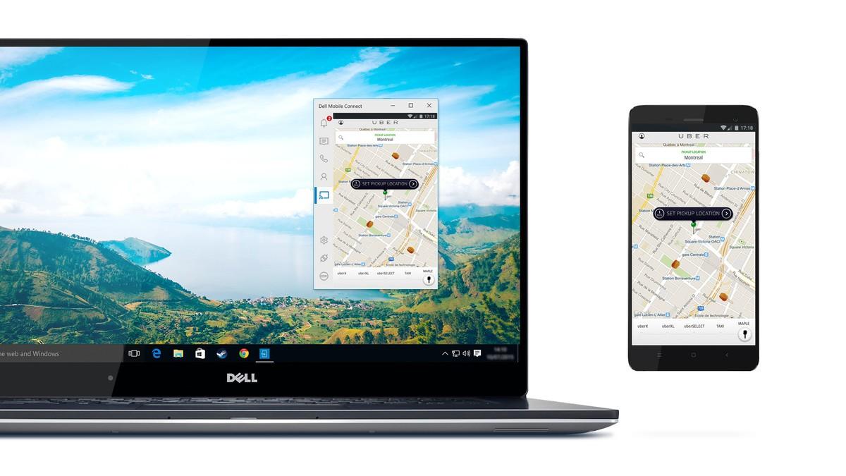 أداةMobile Connect من شركة ديل لربط هاتفك مع جهازك الحاسوب