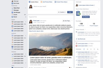 المشاركات في فيسبوك