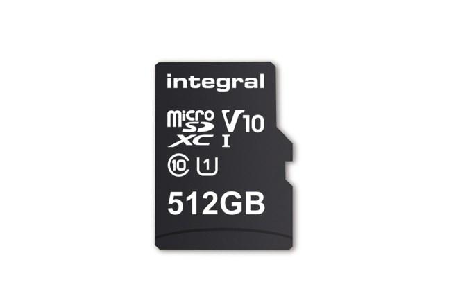 """أول ذاكرة تخزين """"مايكرو إس دي"""" بمساحة 512 جيجابايت ستصل في فبراير"""