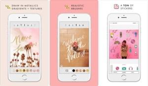 تطبيقA Design Kit لإضافة النصوص والملصقات على صورك