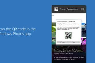 تطبيق Photos Companion من مايكروسوفت لنقل الصور إلى الحاسوب