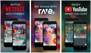 تطبيقRave للدردشة مع الأصدقاء أثناء مشاهدة الفيديوهات