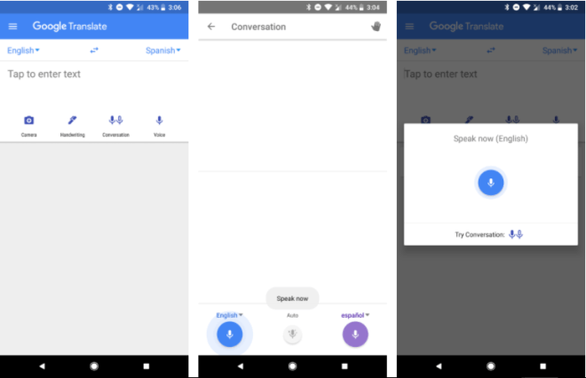 Google Define Application Interface By The Upgrade With Faster