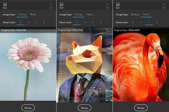 تطبيقResize 2x لزيادة دقة الصورة عند تحجميها او اقتصاصها