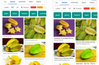 نتائج بحث صور قوقل ستعرض الآن تسميات توضيحية في أندرويد و iOS