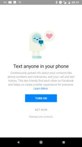 بيان من فيسبوك ينفي استخدام بيانات الرسائل والمكالمات في ماسنجر