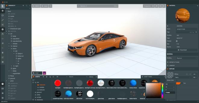 سنابشات تستحوذ على PlayCanvas للتصميم ثلاثي الأبعاد