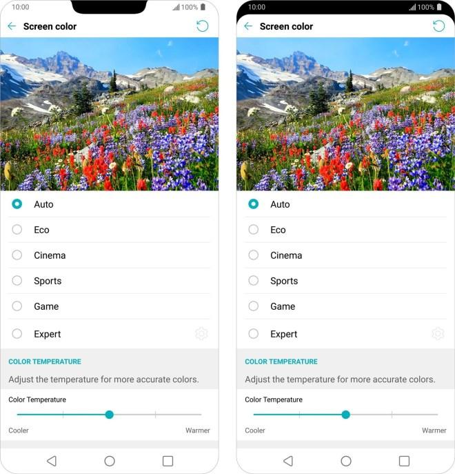 هاتف LG G7 سيأتي بشاشة 6.1 بوصة بدقة عالية جداً
