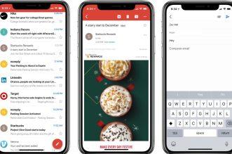 Gmail على iOS يدعم الآن ميزتي الغفوة وإرسال الأموال